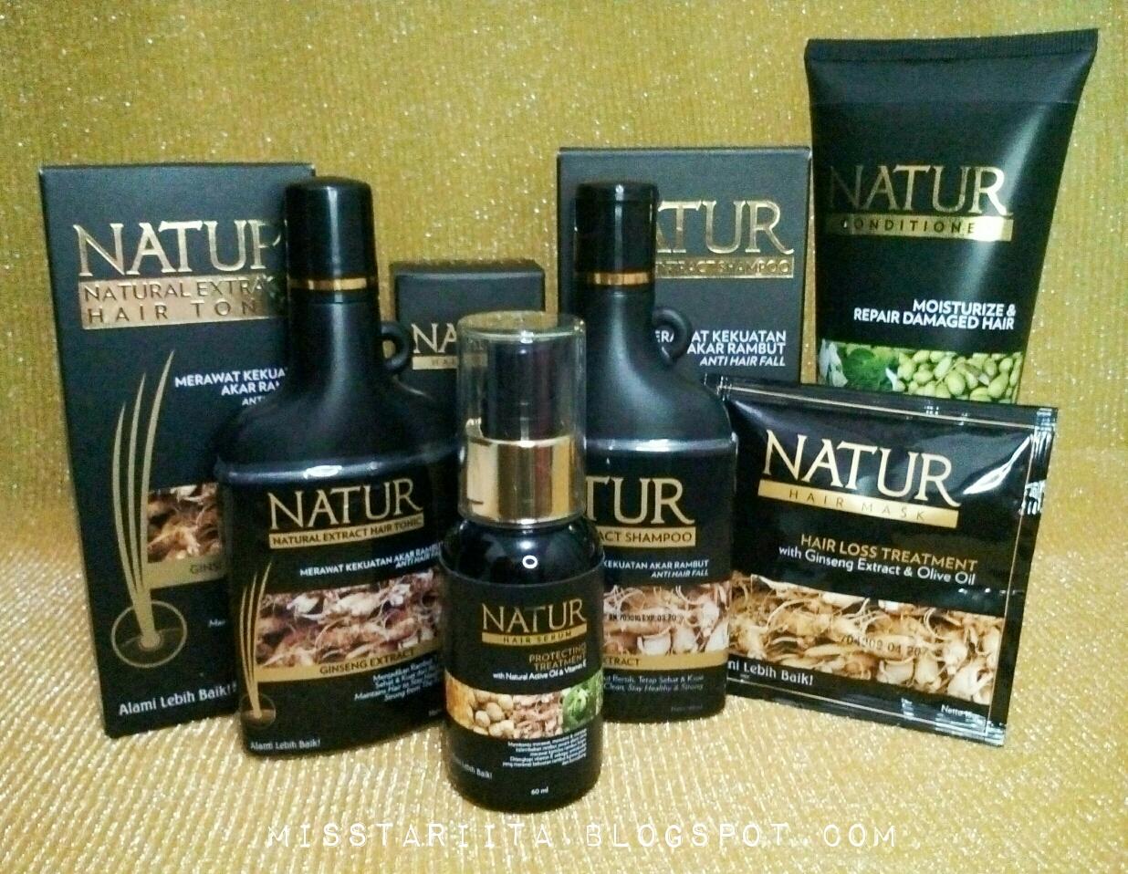 Review Mengatasi Rambut Rontok Dan Kering Dengan Rangkaian Natur Hair Care Kuat Dari Akar Beauty Blogger Medan Misstariita