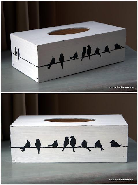 Chustecznik w ptaszki