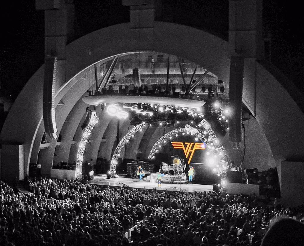 hennemusic: VIDEO: Van Halen close out 2015 tour at the Hollywood Bowl