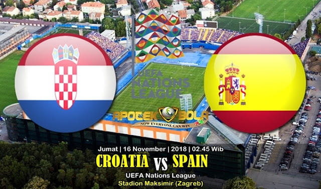 Prediksi Croatia Vs Spain 16 November 2018