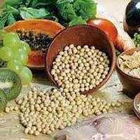 Alimentos, aveia e soja