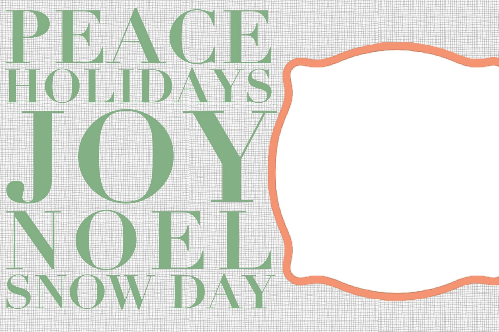christmas card template christmas card printable photo card hc312
