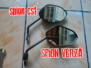 spion honda cs1 vs spion honda verza