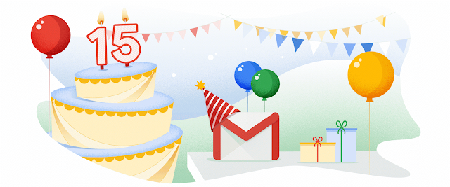 Gmail comemora 15 anos com o lançamento de novas funcionalidades