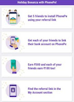 PhonePe Refer & Earn Trick