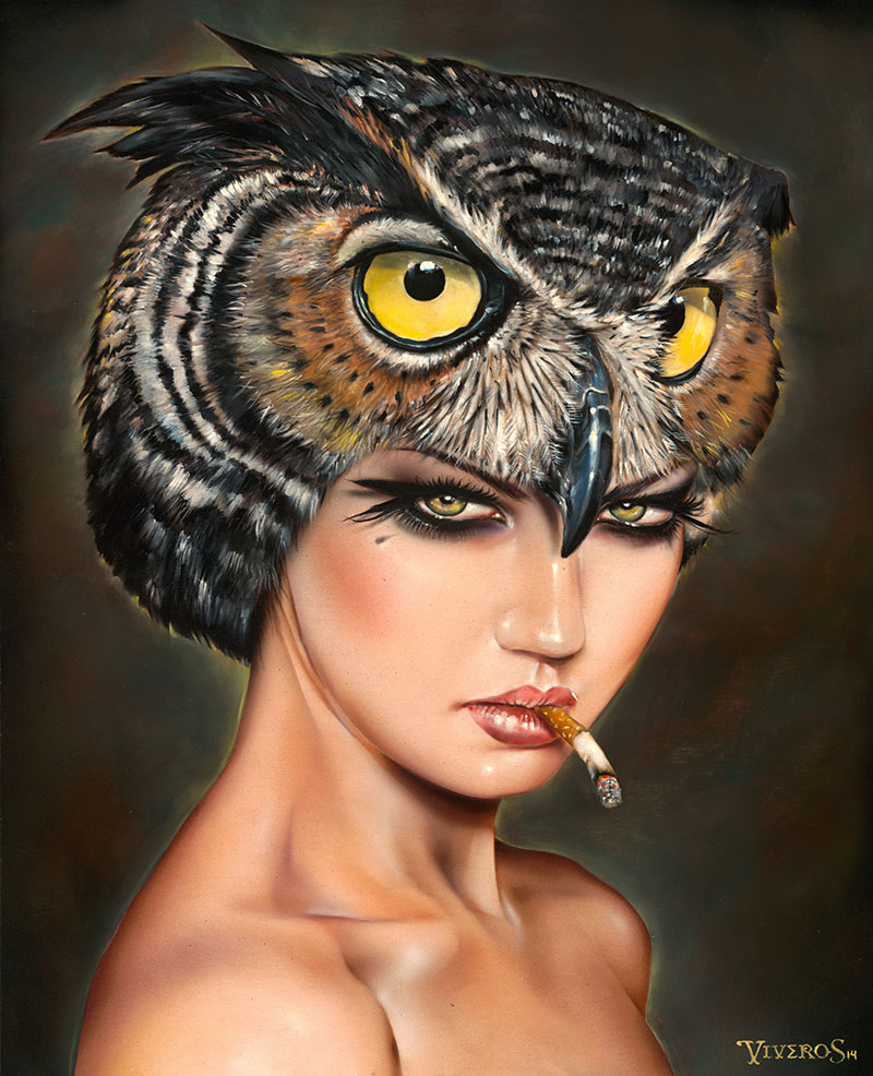 06-Night-Breed-Brian-M-Viveros-Paintings-of-Femininity-in-the-Eye-of-the-Artist-www-designstack-co