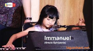 Download Lagu Rohani Immanuel (Grezia Ephipania)