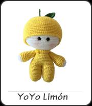Muñeco Yoyo limón