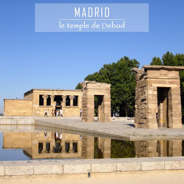 madrid temple égyptien debod gratuit