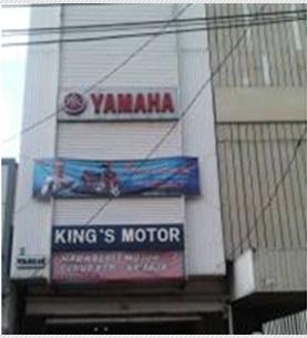 Showroom Yamaha KINGS MOTOR Jakarta Pusat
