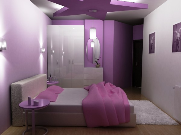Bedroom Purple Colors - Modern Home Minimalist ...
