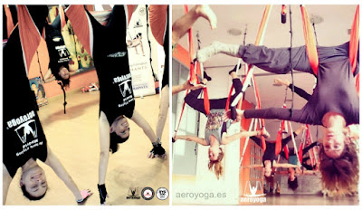 yoga, columpio, hamaca, trapeze, swing, fly, flying, acro