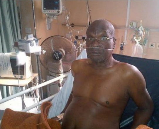 olumide lied about illness