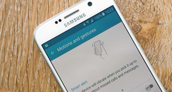 fitur motion gesture pada smartphone