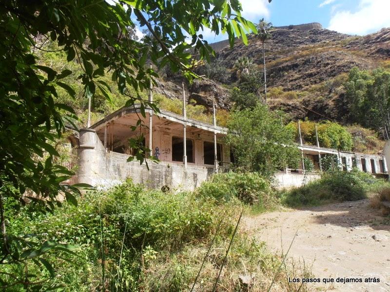 Balneario en el Barranco de Azuaje