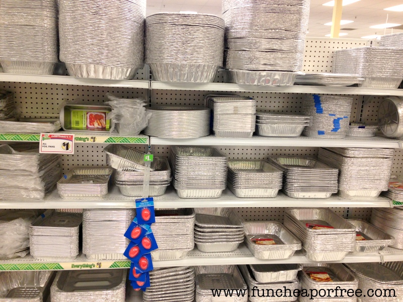 fa72973b2ce Hands-down, if the only thing you walk away with learning from this  mile-long post, it's BUY YOUR DISPOSABLE BAKING PANS AT THE DOLLAR STORE!
