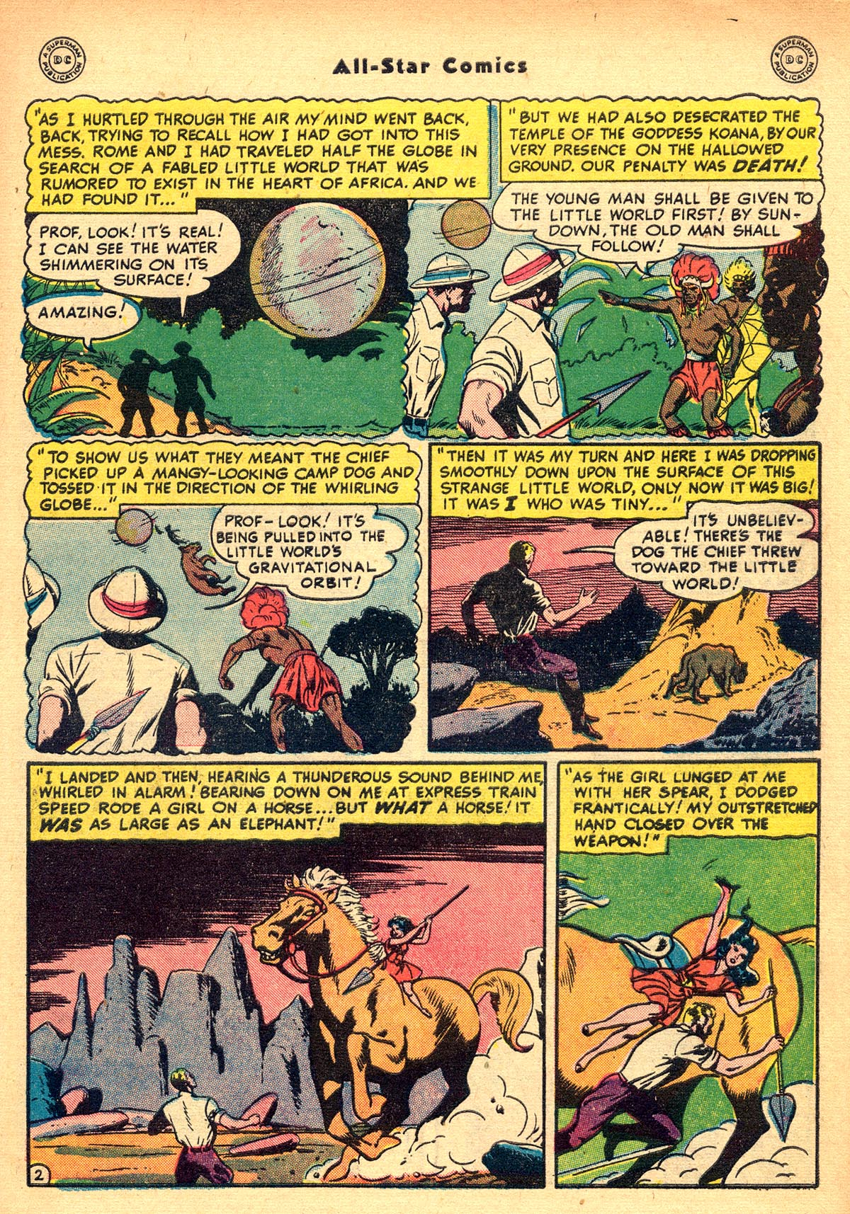 Read online All-Star Comics comic -  Issue #48 - 45