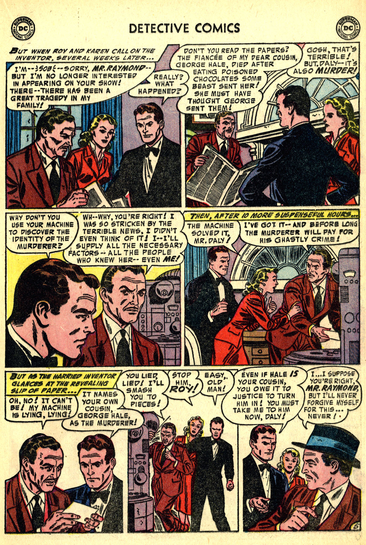 Detective Comics (1937) 208 Page 20