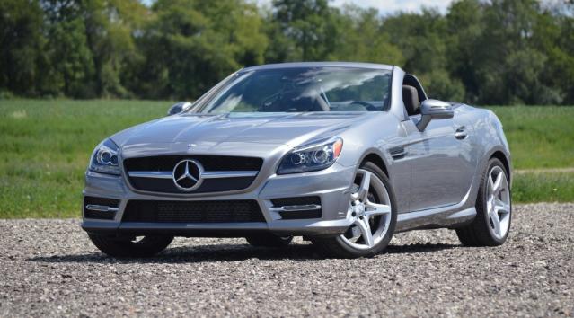 2015 Mercedes-Benz SLK250 Manual Review