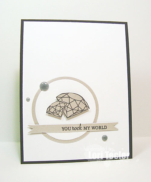 You Rock My World card-designed by Lori Tecler/Inking Aloud-stamps and dies from Clear and Simple Stamps