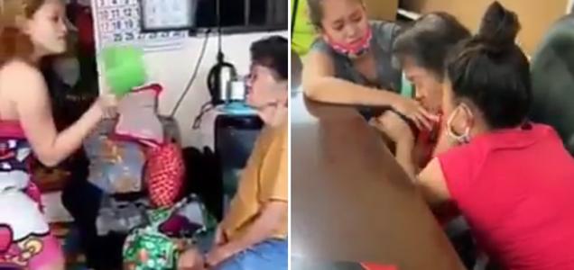 Dalawang apo na nag-viral matapos apihin ang kanilang Lola, humingi na ng tawad | Filipino Clip
