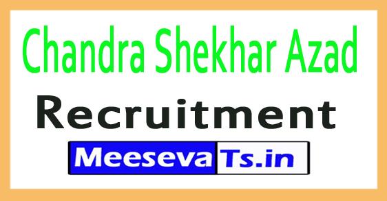 Chandra Shekhar Azad CSAUK Recruitment