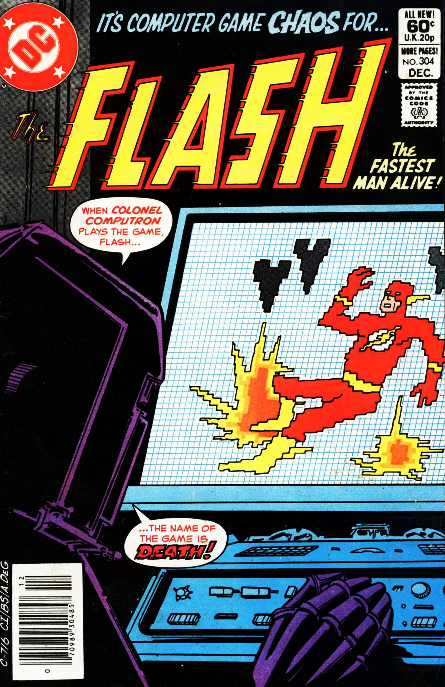 The Flash (1959) 304 Page 1