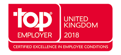 Canon Europe named a Top Employer 2018