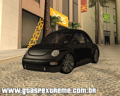 Vw New Beetle 2003 Edit para grand theft auto