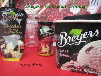 Cherry-ice cream party-Printables-Cookies-Ribbon
