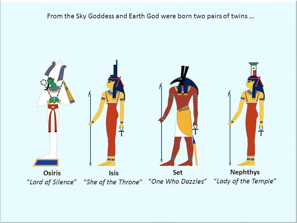 Beautiful Egypt: Osiris and Isis story