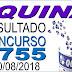 Resultado da Quina concurso 4755 (20/08/2018) ACUMULOU!!!
