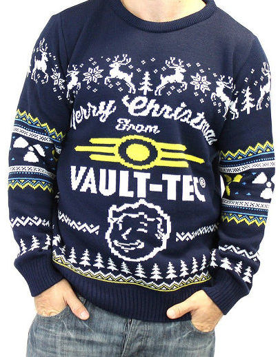 official fallout 4 christmas sweater