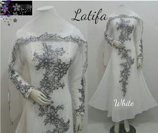 baju akad nikah murah putih 2016