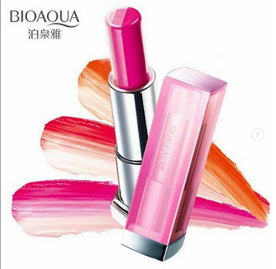 BIOAQUA triple bar lipstick | Soulskin Cosmetics Indonesia