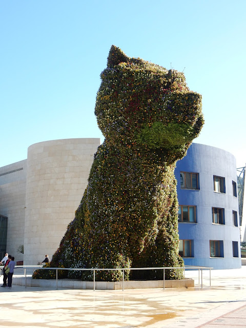 Puppy, Perrito, Guggenheim Museum, Bilbao, España, Elisa N, Blog de Viajes, Lifestyle, Travel