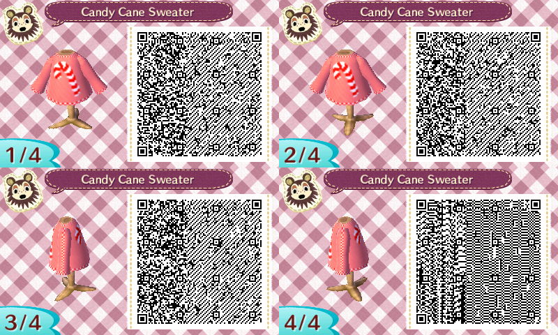 The Gay Gamer Is It Too Early For Me To Post Qr Codes Of Animal Crossing New Leaf Christmas Sweater Designs