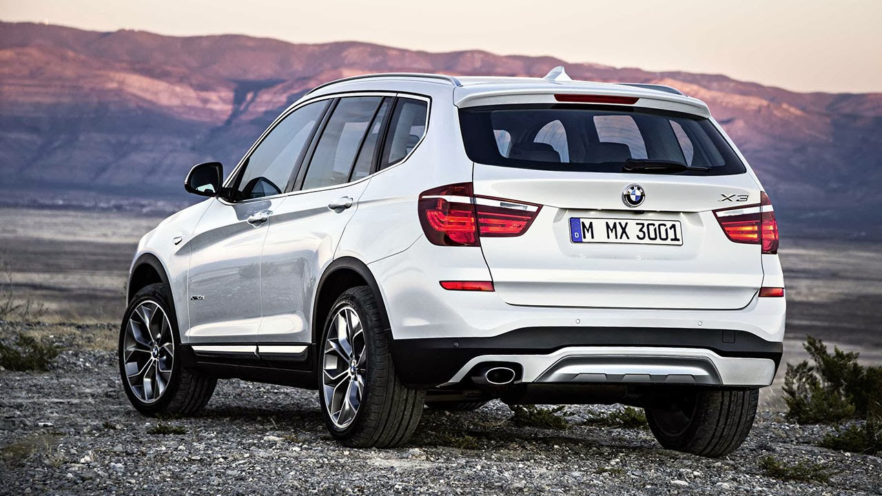 BMW X3 rear side