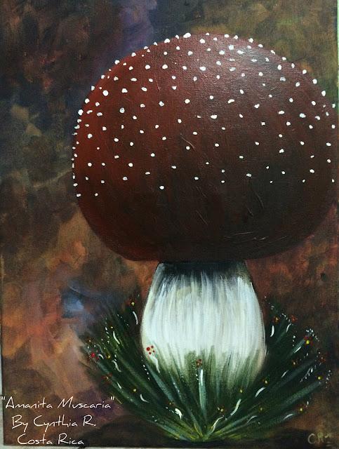 amanita muscaria, hongo rojo