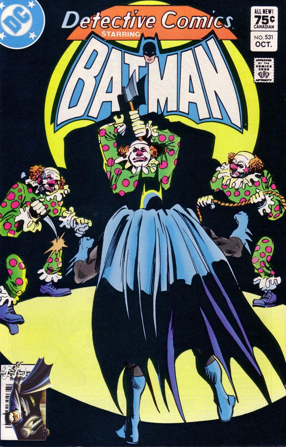 Detective Comics (1937) 531 Page 1