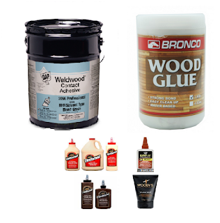 many wood glue sold in the market