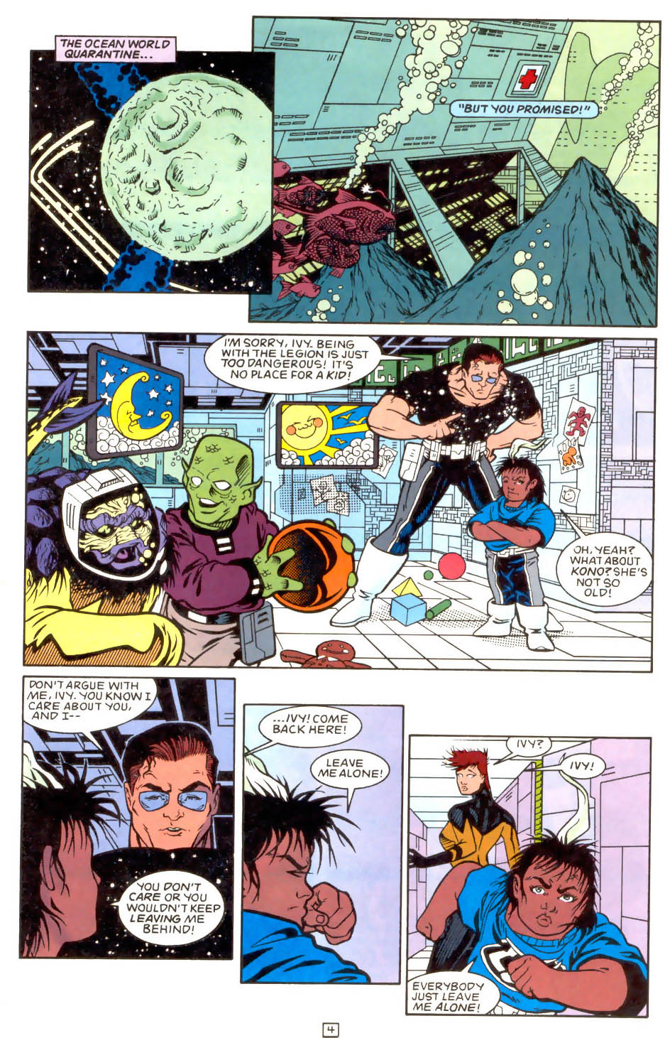 Legion of Super-Heroes (1989) 51 Page 4