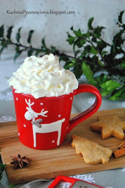 468. Piernikowa caffe latte z domowym syropem