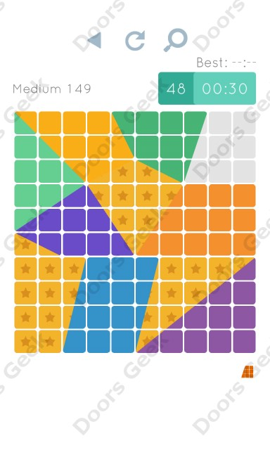 Cheats, Walkthrough for Blocks and Shapes Medium Level 149