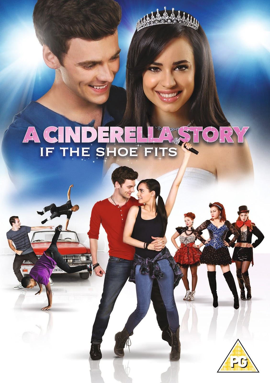 A Cinderella Story - If The Shoe Fits DVD Cover