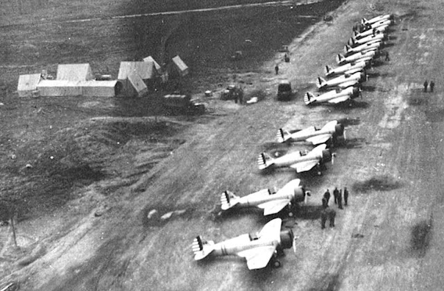P-36 Hawks at Elmendorf AF Base, 14 August 1941 worldwartwo.filminspector.com