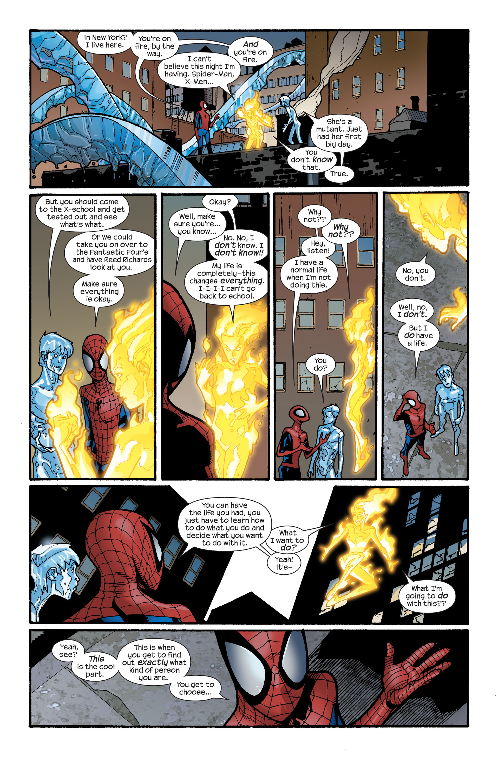 Read online Ultimate Spider-Man (2000) comic -  Issue #119 - 15