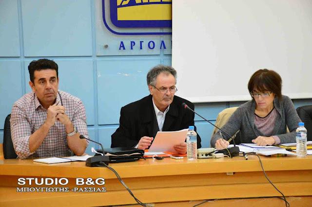 Συνεδριάζει το Δημοτικό Συμβούλιο στο Ναύπλιο στις 29 Ιανουαρίου