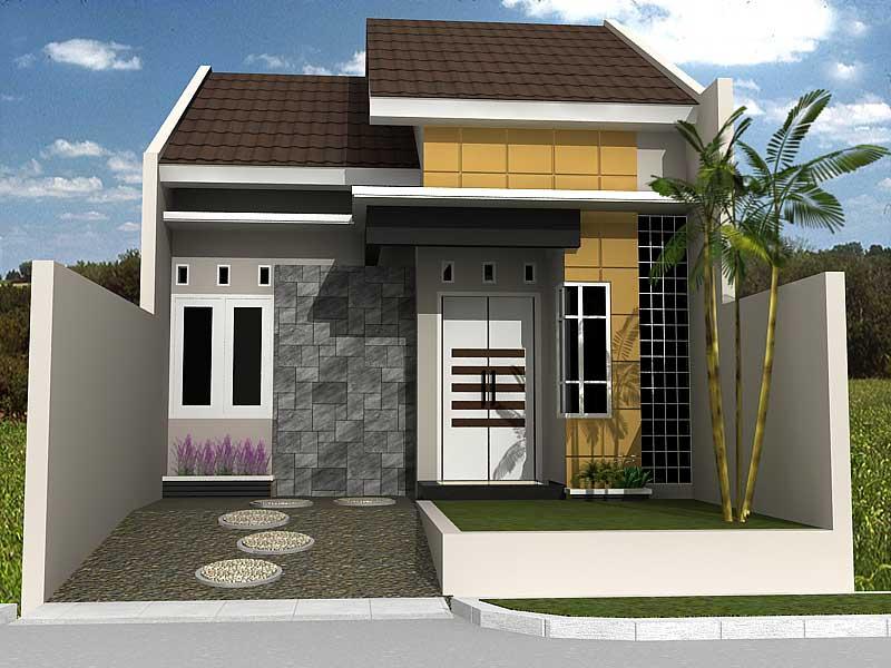 65 Desain Rumah Minimalis Modern 1 Lantai Terindah dan