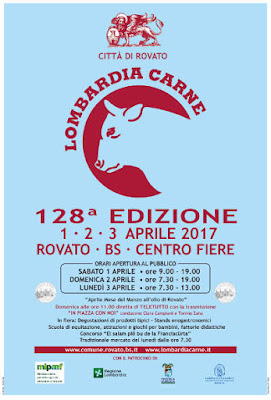 Fiera Lombardia Carne 1-2-3 aprile Rovato (BS)